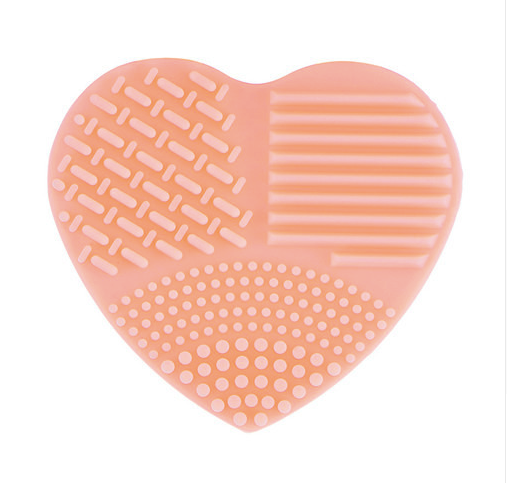 Heart Shape Silicone Brush Cleanser