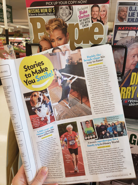 Buddy Mercury in People Magazine!