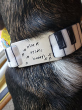 Load image into Gallery viewer, play it again Dog Collar and Tag set (size: XS)