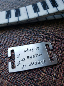 play it again Dog Collar and Tag set (size: Sm)