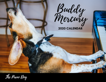 Load image into Gallery viewer, Buddy Mercury 2020 Calendar - Shipping to US addresses