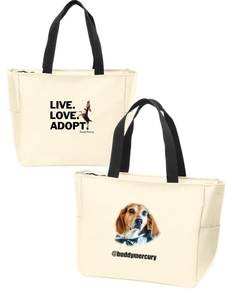 NEW! Buddy Mercury Tote Bag with pockets