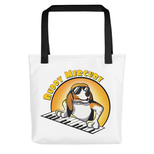 On the Keys: Tote Bag