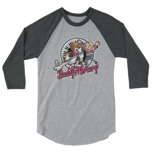 NEW! Buddy Mercury with Lil Sis raglan shirt