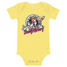 Load image into Gallery viewer, NEW! Buddy Mercury with Lil Sis Baby Onesie