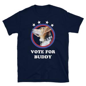 Vote for Buddy Adult Tee