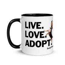 Load image into Gallery viewer, NEW! Live Love Adopt Mug