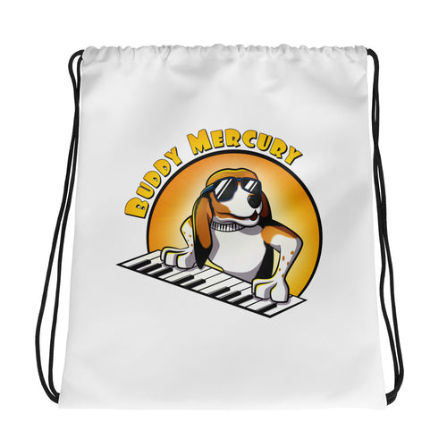 On the Keys: Drawstring Bag