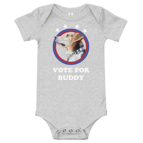 Vote for Buddy Baby Onesie