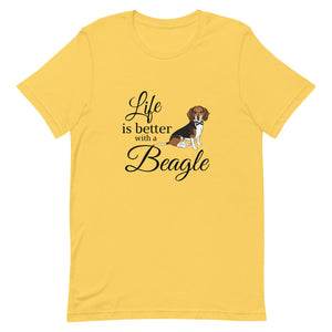 NEW! Life is Better with a Beagle Tee