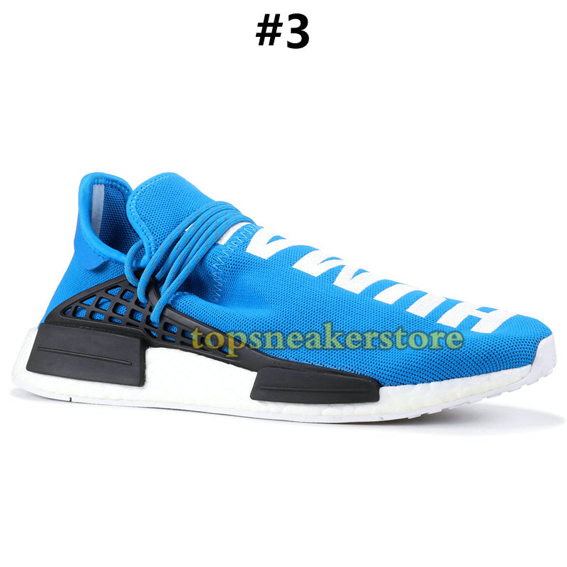 0f79c0563 2019 NMD Human Race Mens Running Shoes With Box Pharrell Williams Sample  Yellow Core Black Sport Designer Shoes Women Sneakers 36-45