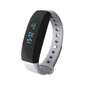IP65 Smart Bracelet Sport Activity Fitness Tracker Pedometer Wristband Bluetooth 4.0 Sleep Monitor Intelligent Alarm Sports Alarm Anti-lost for iOS Android APP Control