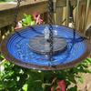 Premium Solar Powered Water Fountain Pump with 3 Water Flow Patterns
