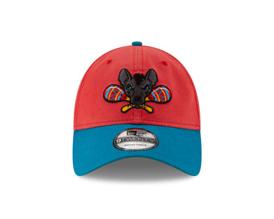 Gwinnett Stripers Xolos de Gwinnett New Era 920 Cap- Neon Red