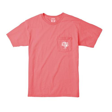 Gwinnett Stripers Comfort Colors Slide Salmon Tee