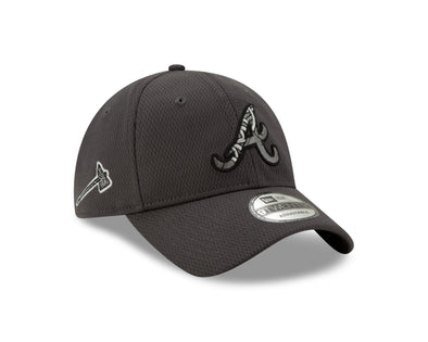 Atlanta Braves New Era Script A 2020 BP 920 Cap- Grey