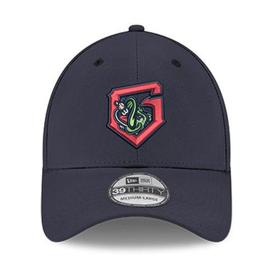 Gwinnett Stripers New Era Alternate G 3930 Flex Fit Cap- Navy