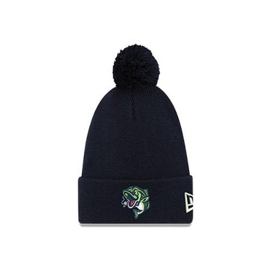 Gwinnett Stripers New Era Knit Hat- Navy
