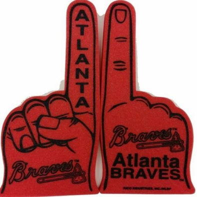 Atlanta Braves Red Foam Finger
