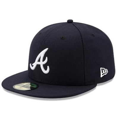 Atlanta Braves New Era Road 5950 Cap