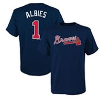 Atlanta Braves Youth Albies #1 Player Tee