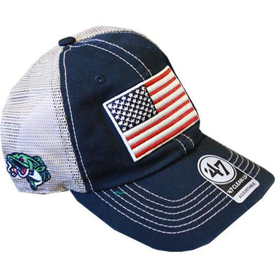 Gwinnett Stripers '47 American Flag Trawler Navy Clean Up Cap