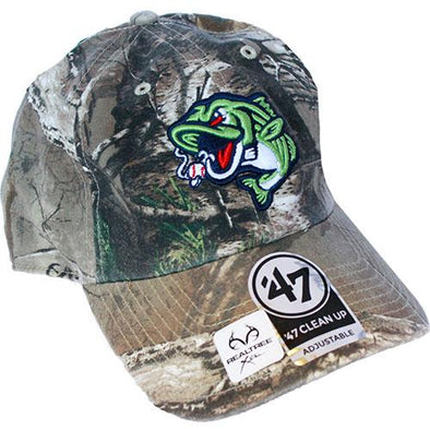 Gwinnett Stripers '47 Realtree Clean Up Cap