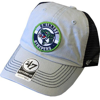 Porter Trucker Cap with Circular Stripers Logo