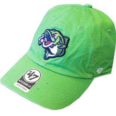 Gwinnett Stripers '47 Brand Lime Green Clean Up Cap