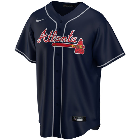 Atlanta Braves Nike Alternate Navy Jersey