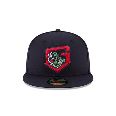 Gwinnett Stripers New Era Alternate G On Field 5950 Cap- Navy