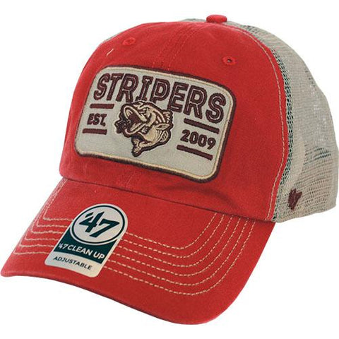 Gwinnett Stripers '47 Red Sallana Clean Up Cap