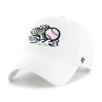 Gwinnett Stripers '47 Alternate Tail Logo White Clean Up Cap
