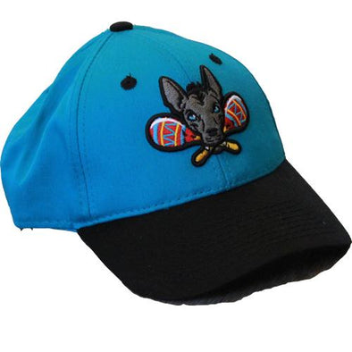 Gwinnett Stripers Xolos de Gwinnett OC Sports Youth Cap- Teal/Black