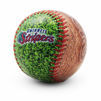 Gwinnett Stripers Dirt Baseball