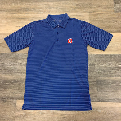 Atlanta Braves Antigua Polo- Royal