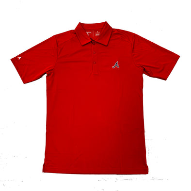 Atlanta Braves Antigua Tribute Polo- Red