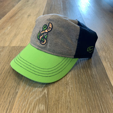 Gwinnett Stripers OC Sports Toddler Cap- Grey/Navy/Green