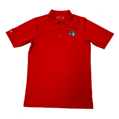 Gwinnett Stripers Antigua Tribute Polo- Red