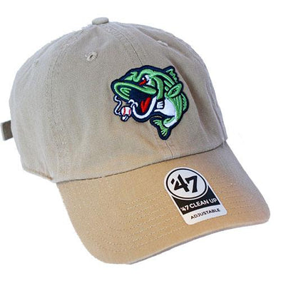 Gwinnett Stripers '47 Khaki Clean Up Cap