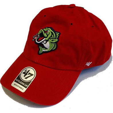 Gwinnett Stripers '47 Red Clean Up Cap