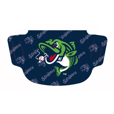 Gwinnett Stripers Wincraft Face Mask- Navy