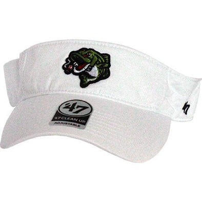 Gwinnett Stripers '47 White Visor