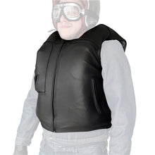 Load image into Gallery viewer, Helite Custom Leather Motorcycle Airbag Vest