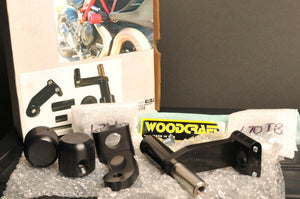 WOODCRAFT RACING FRAME SLIDER KIT W/PUCKS - DUCATI DIAVEL - 50-0670 (50-1399)CUT