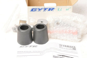 Genuine Yamaha 2C0-W0741-00-00 GYTR Frame Sliders YZF-R6 2006 06 BLACK