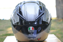 Load image into Gallery viewer, AGV HELMET - GT VELOCE MULTI GTX BLACK/GUN METAL SMALL S - 621102F0002005