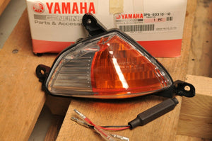 NOS OEM YAMAHA 3P6-83310-10 FLASHER LIGHT ASSEMBLY,FRONT LEFT- FJR13 FJR 1300 ++