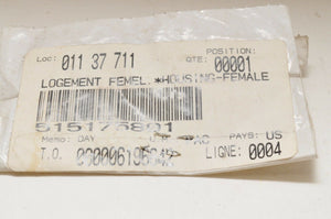 NEW NOS SKIDOO CANAM ELECTRICAL FEMALE HOUSING 515175801 24 CIRCUITS