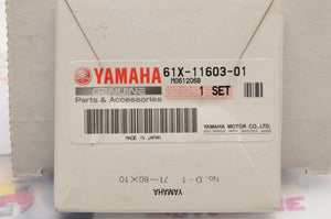 NEW NOS OEM YAMAHA MARINE 61X-11603-01-00 PISTON RING SET,STD. WAVE RUNNER 700